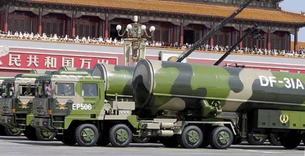 Китай парад ракеты