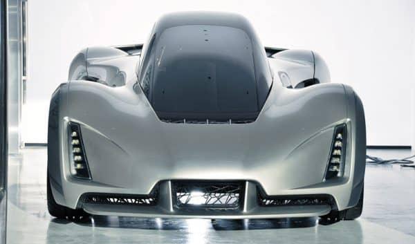 Blade авто отпечатанное на 3D принтере фото