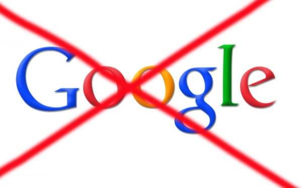 запретить Гугл