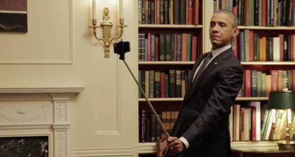 Обама селфи