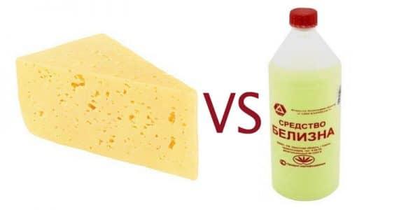сыр против белизны