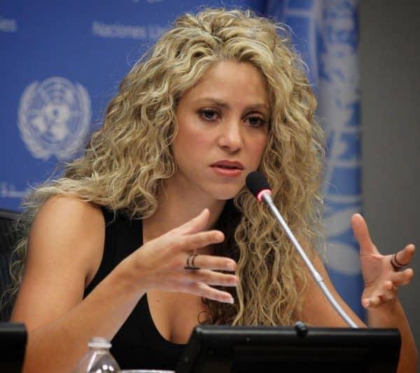 Шакира в ООН