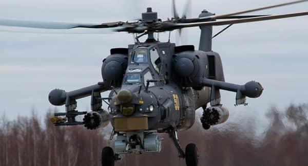 Разбился русский вертолет Ми-28Н, двое погибших